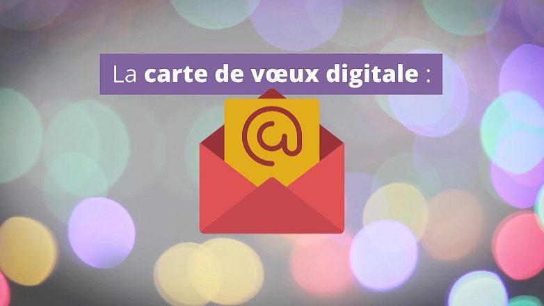 la carte de voeux 2019|Pensez à votre carte de vœux digitales pour 2019