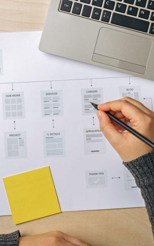 Une bonne architecture permet la création de site internet optimisé pour le SEO